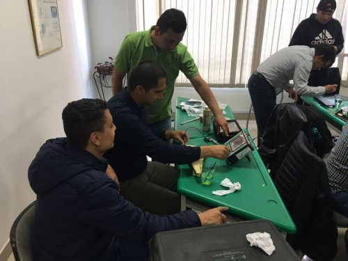 NDT training - Isotec