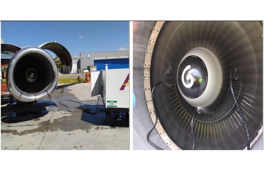 HIDROLAVADORA para turbinas